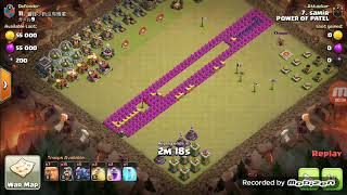 What happens when you have a fwa base in Clash of clans