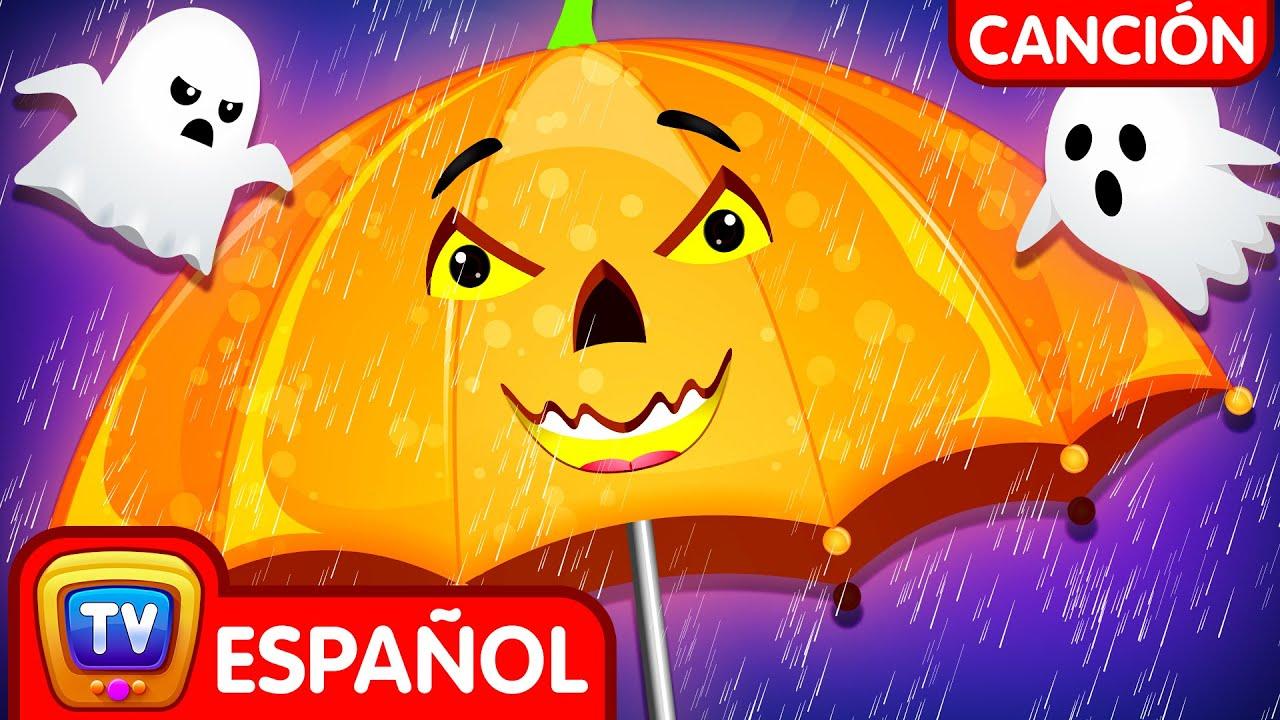 Canción de Halloween con Bebés Lluvia Lluvia (Rain Rain Go Away Halloween Song) - ChuChu TV Español
