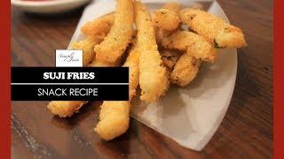 Suji Fries | How To Make Fries | Snack Recipe | Simply Jain