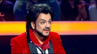 """Филипп Киркоров в шоу """"Как две капли"""" на телеканале Украина 3.11.2013"""