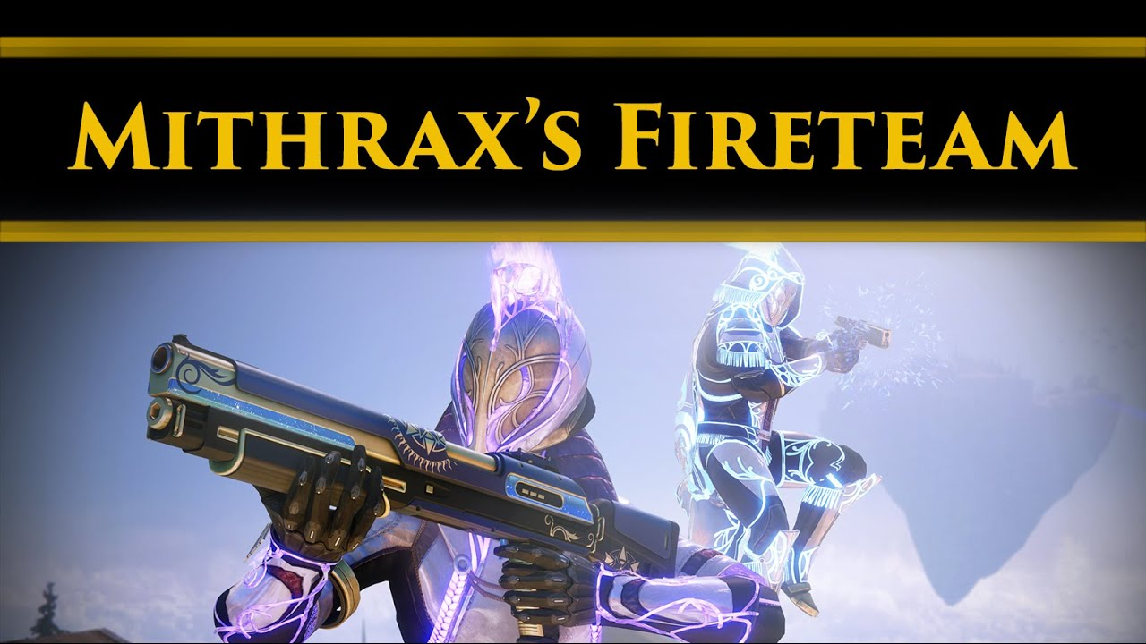 Destiny 2 Lore - Mithrax's Secret Guardian Fireteam, which might soon be working with Crow!