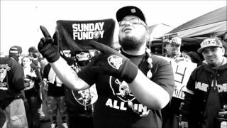 Pookie Alzado - All In Official Music Video Oakland Raiders Anthem I The Black and Silver Way