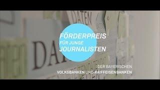 Förderpreis für junge Journalisten 2016: Julia Häglsperger und Robert Grantner