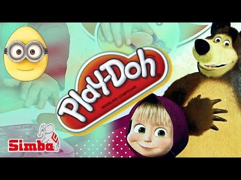 Play Doh Popsicles Scoops Ice Cream Surprise Peppa Pig and ...