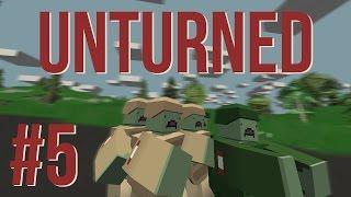 Unturned |  Konečně vojenská základna! | w/ Baxtrix