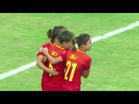 AFC U-19 Women's Championship China 2017 - Group Stage HL