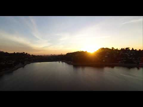Drone Over Silverlake, Los Angeles