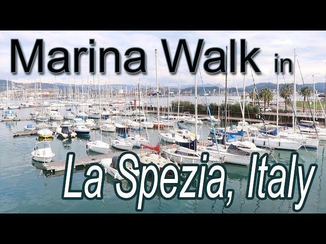 Marina Walk in La Spezia, Italy