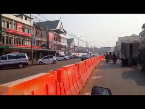 Thủ đô Viêng Chăn - Lào Vientiane city, Laos #Sunday morning