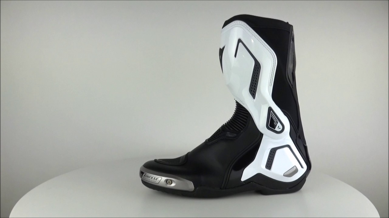 Dainese Torque D1 Out Boots Black White Champion Helmets