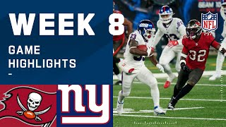 Buccaneers vs. Giants Week 8 Highlights | NFL 2020