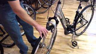 How To Remove A Quick Release Front Wheel