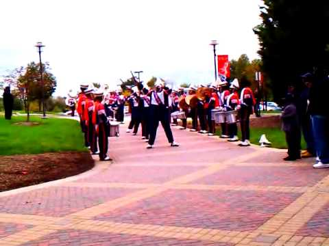 Morgan State University Marching Band - Tunnel 10.1.2011