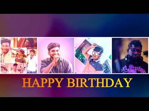 Chennai gana||BIRTHDAY SONG|| GANA  SUPER STAR GANA PRABHA