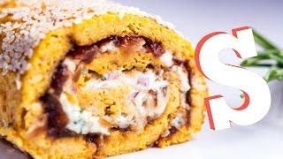 Savoury Swiss Roll Recipe