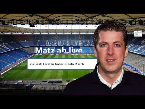 Ab Minute 25 geht's los: Matz ab nach dem Spiel FC Köln - HSV