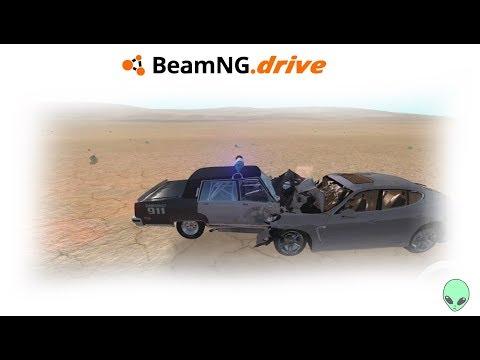 BeamNG drive: BATI A PORSCHE PANAMERA