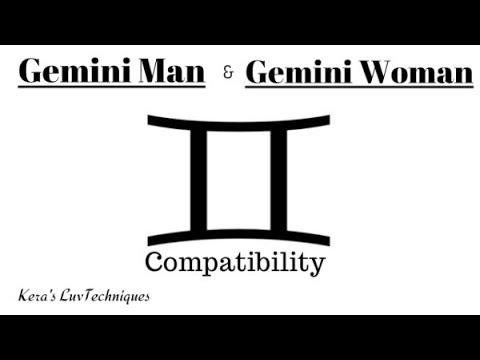 Gemini Man and Gemini Woman Compatibility