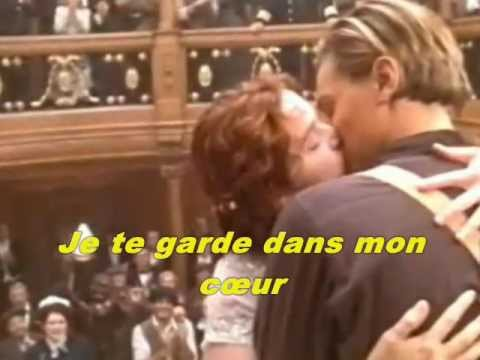 Celine Dion - Mon coeur survivra pour toi (My Heart Will Go on - Titanic)