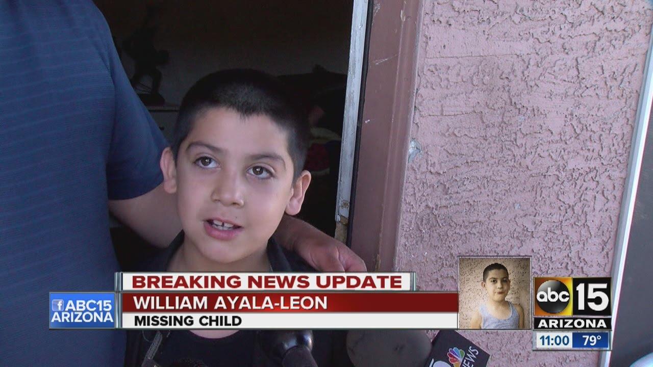 Missing 7-year-old boy found