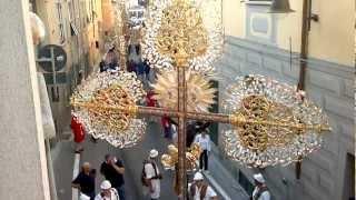 Gavi 2012 - Processione del Corpus Domini - Cambio del Cristo Nero