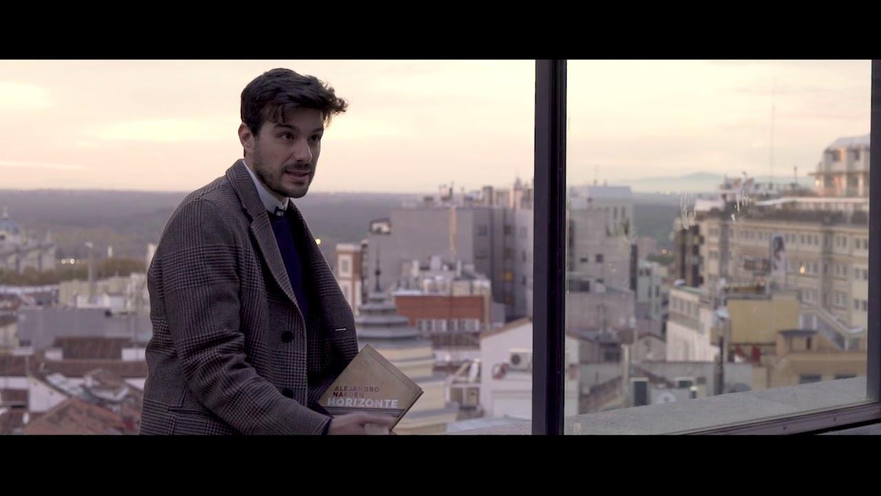 Alejandro Narden habla sobre su obra 'Horizonte aquí' XXV PREMIO DE NOVELA 'ATENEO JOVEN DE SEVILLA'