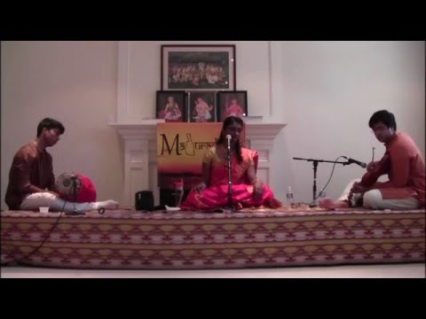 Maduradhvani Toronto 2016 series   Concert # 5 by Kum Thakshana Srinathan