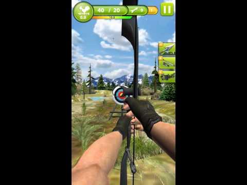 Играем в игру стрельба из лука 3d