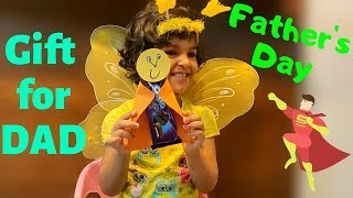 Easy Father's Day Gift Idea | Father's Day Gift From 3 Years Old