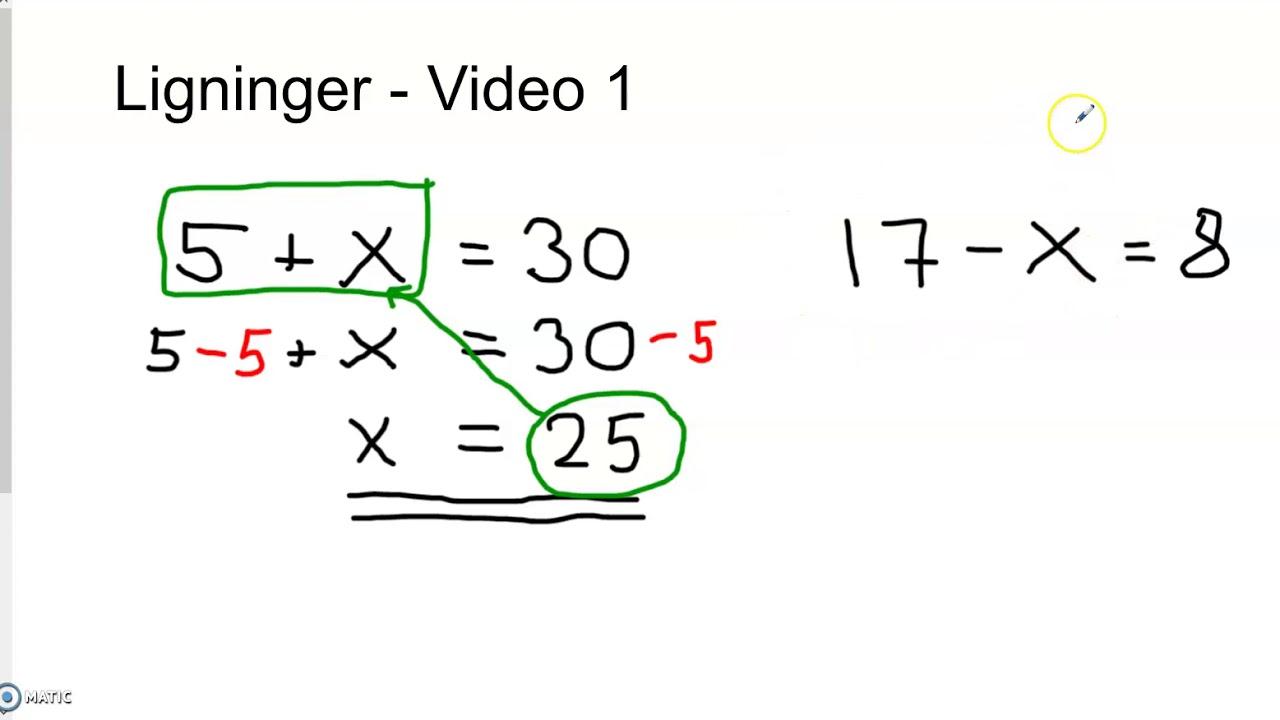 Ligninger   Video 1