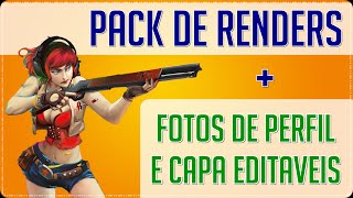 SUPER PACK DE FOTOS DE CAPAS E PERFIL DE POINT BLANK + RENDERS, ARMAS, PERSONAGENS (PNG)