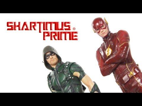 Arrow and Flash CW TV Series Kotobukiya ArtFX+ DC Comics Statue Review
