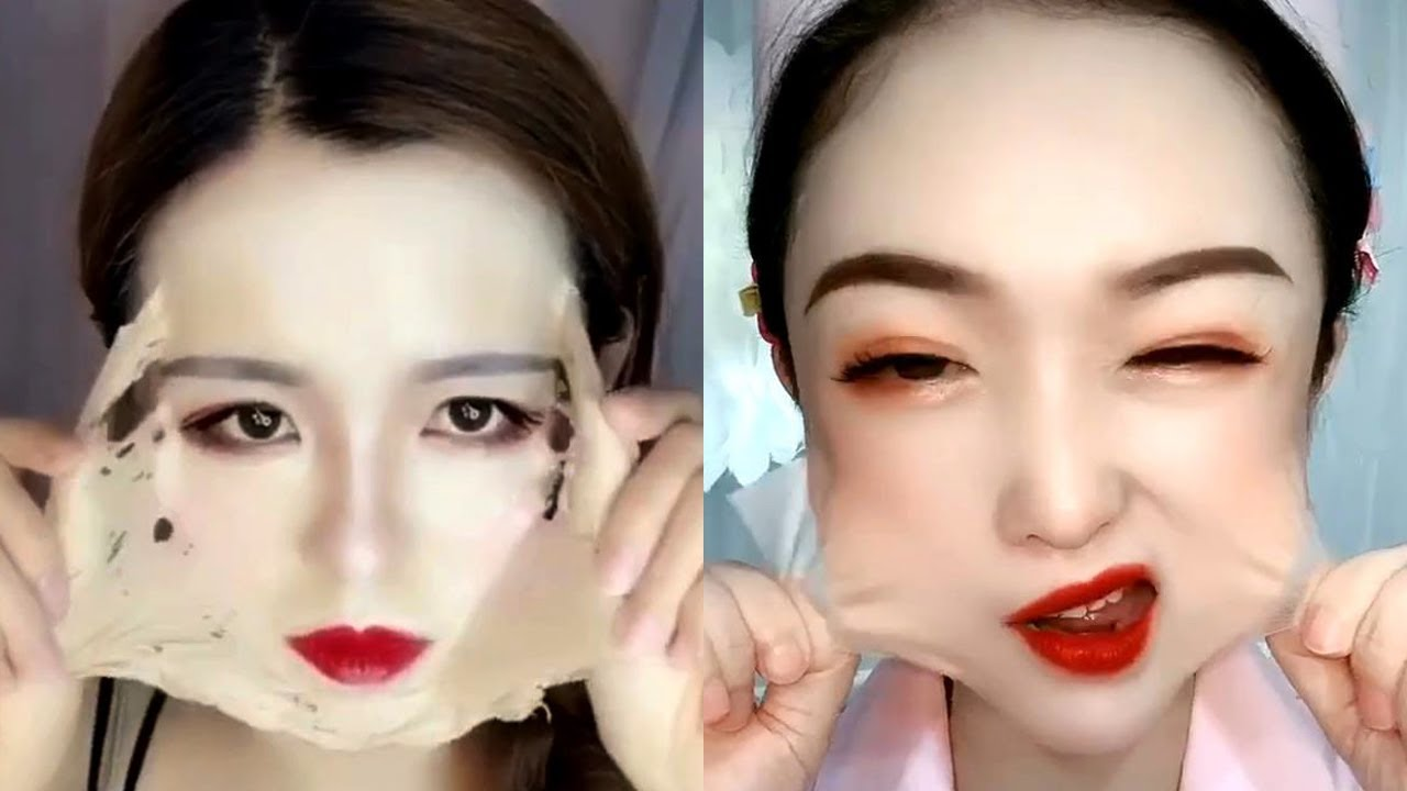 Asian Makeup Tutorials Compilation | New Makeup 2021 | 美しいメイクアップ/ part 146