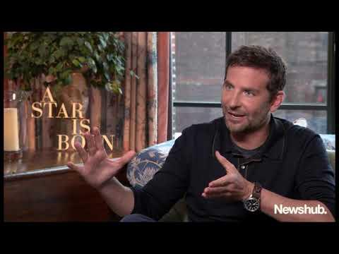 Bradley Cooper talks A Star is Born, Marlon Williams | Newshub