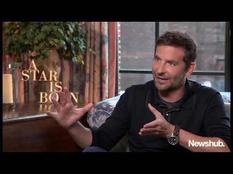 Bradley Cooper talks A Star is Born, Marlon Williams | Newshub