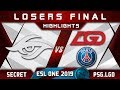 Secret vs PSG.LGD [EPIC] LB Final ESL One Birmingham 2019 Highlights Dota 2