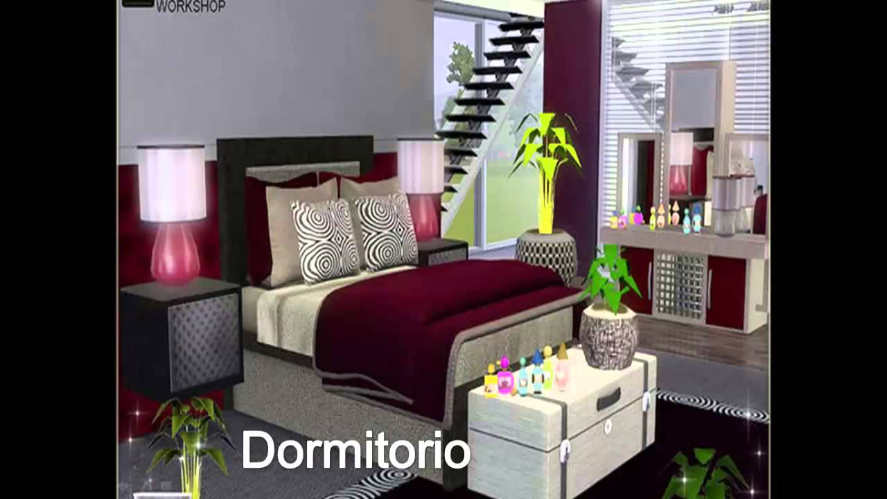 Set de dormitorio vestidor los sims 3 youtube for Dormitorios para 3 ninas