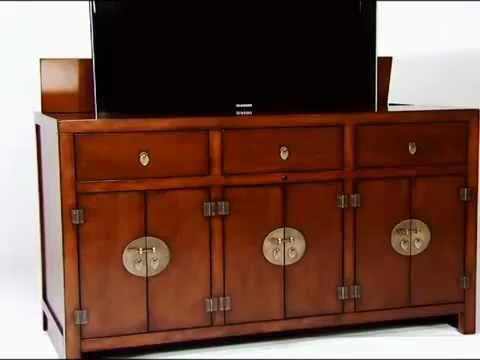 tao tv lift cabinet youtube. Black Bedroom Furniture Sets. Home Design Ideas