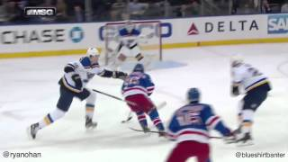 Rangers vs Blues - 11/12/15 - Mats Zuccarello goal