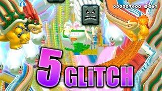 5 GLITCHES en SUPER MARIO MAKER 2