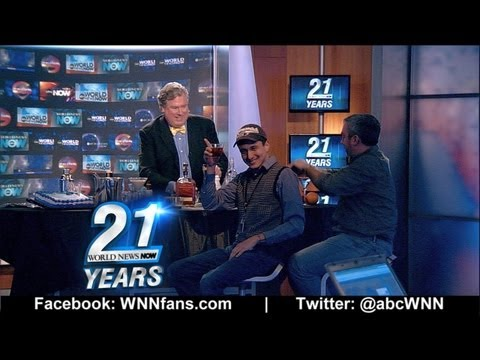 Insomniac Lounge: World News Now 21st Birthday