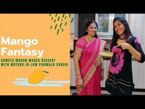 mango-fantasy-|-yummy-&-simple-pudding-|-shweta-mohan-with-mother-in-law-padmaja-shashi