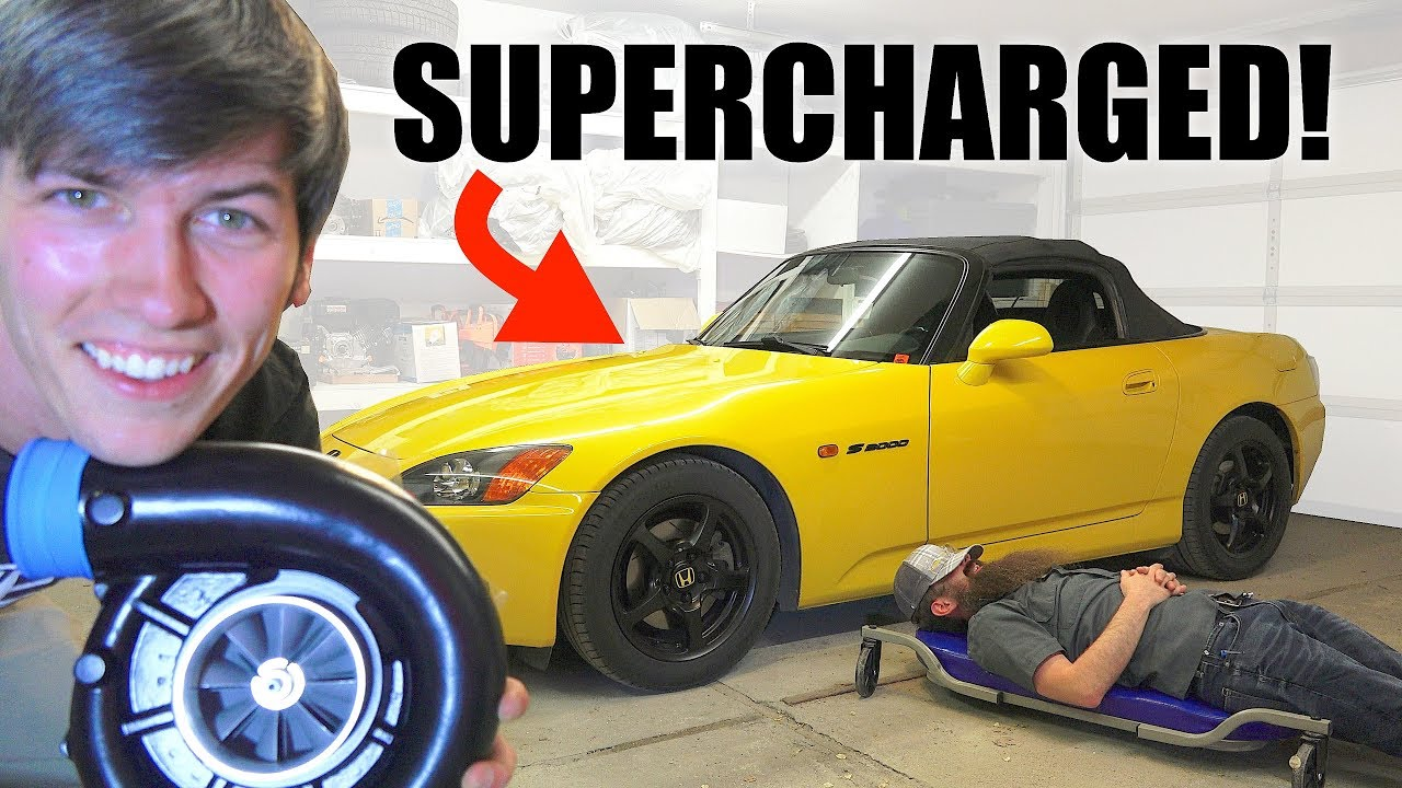 Supercharging My Honda S2000! [ENGINEERINGEXPLAINED]