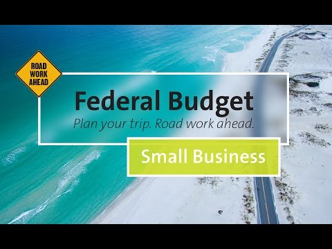 Federal Budget 2017-18 Small Business