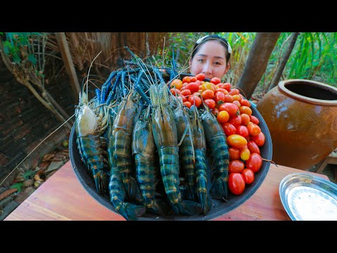 Cooking River Prawn Stir Fry Cherry Tomato – Cooking With Sros