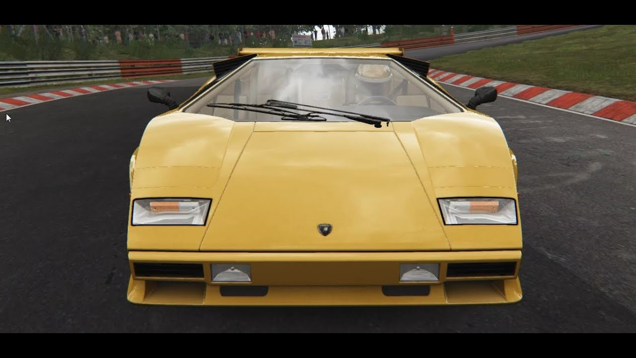lamborghini countach nordschleife assetto corsa youtube. Black Bedroom Furniture Sets. Home Design Ideas