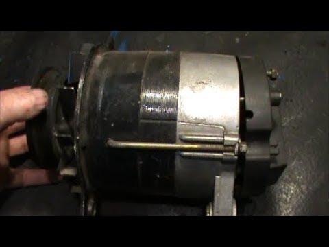 Устройство и ремонт тракторного генератора