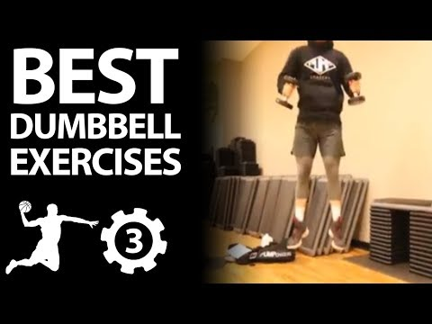 Dumbbell Workout For Vertical Jump: 3 Exercises to Increase Vertical and Jump Higher