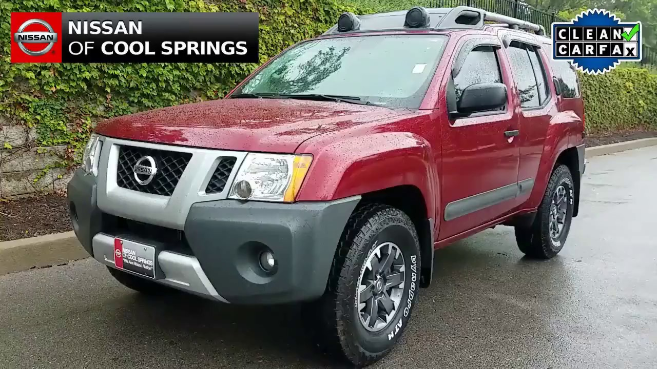 Used NP4101 2015 Xterra PRO-4X in Cool Springs - YouTube