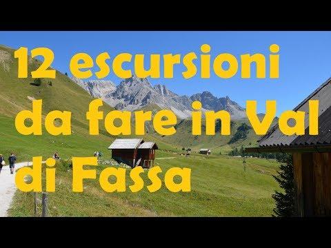 12 Escursioni da fare in Val di Fassa #dolomiti #valdifassa #trekking